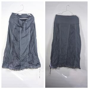 XCVI vintage 90s camouflage panel maxi skirt